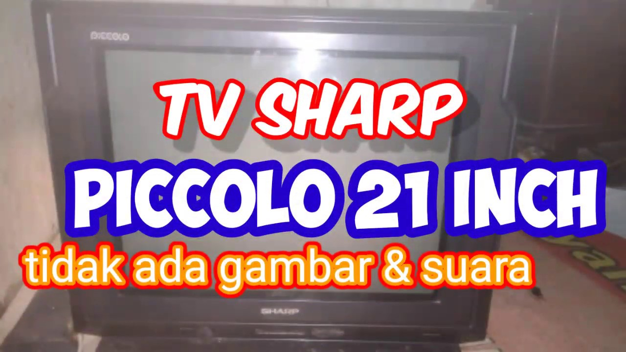 Tv Sharp Tidak Suport Video