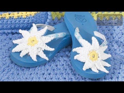2f2703ff3378 Crochet Flip Flops - YouTube