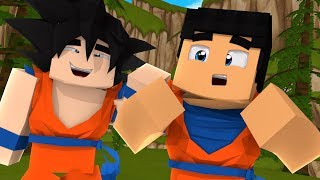 Minecraft: AVENTURA SAYAJIN #07 - ENCONTRAMOS O GOKU !!! (Dragon Ball Super)