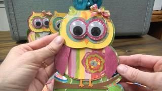 Owl Birthday Party Invitations - Who
