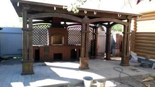 Мангал с печкой в беседке(, 2016-05-19T21:45:45.000Z)