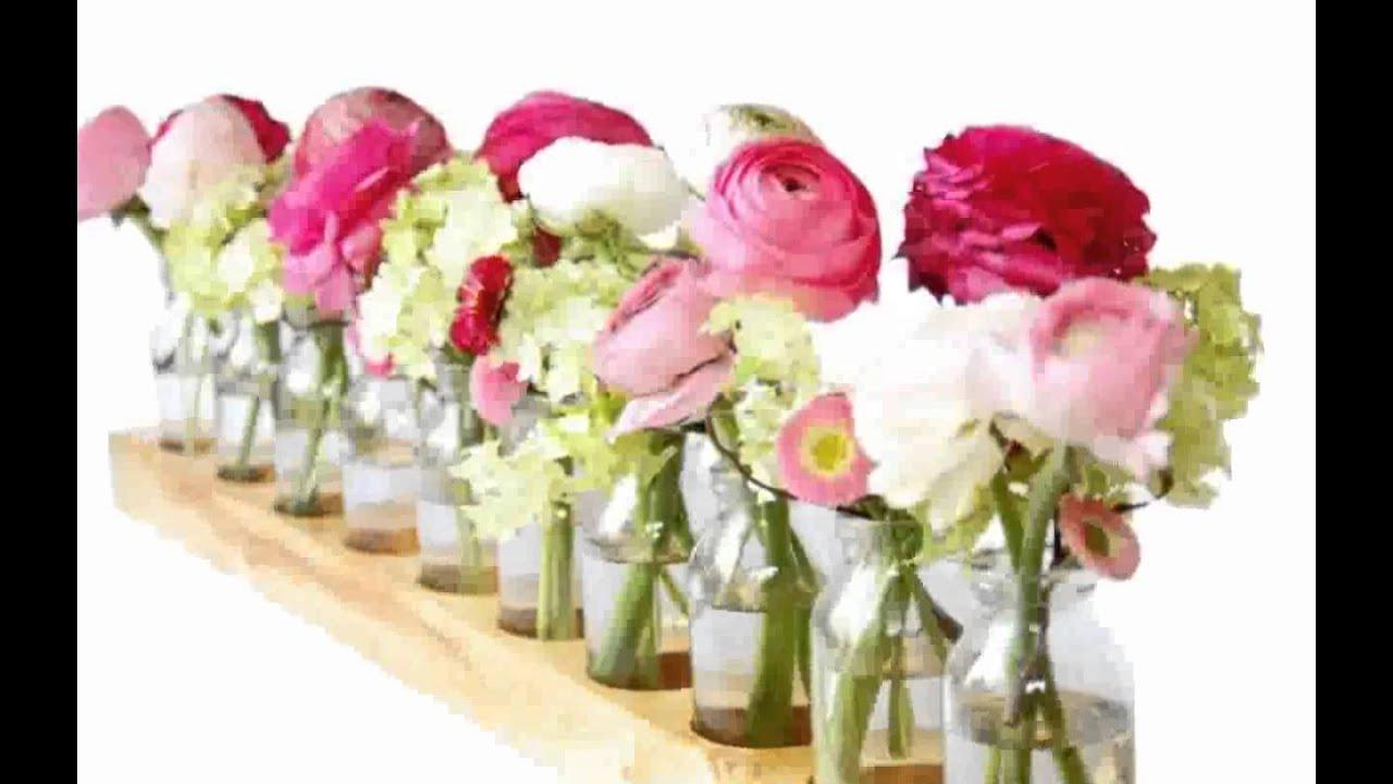 Hochzeit Tisch Blumen Hochzeit Farbkonzept Latest Donut Wall Statt