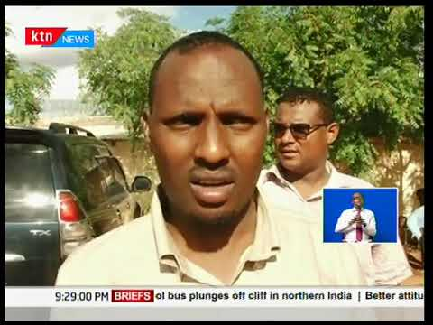 Fracas at the Wajir county assembly as members resorted to exchanging blows.