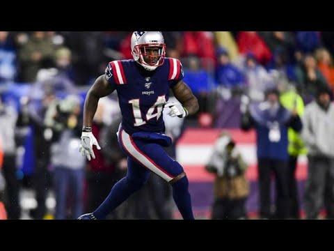Patriots Mohamed Sanu Highlights vs. Ravens Week 9 (2019)