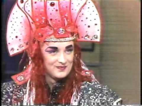 Boy George on Late Night, November 14, 1984