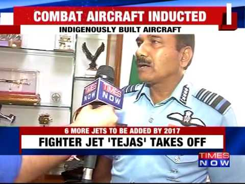 First Made in India fighter jet inducted to IAF