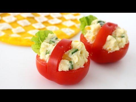 Tomato Picnic Baskets Recipe | トマトのピクニックバスケット
