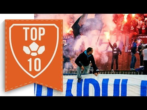 TOP 10 Atmospheres In Football