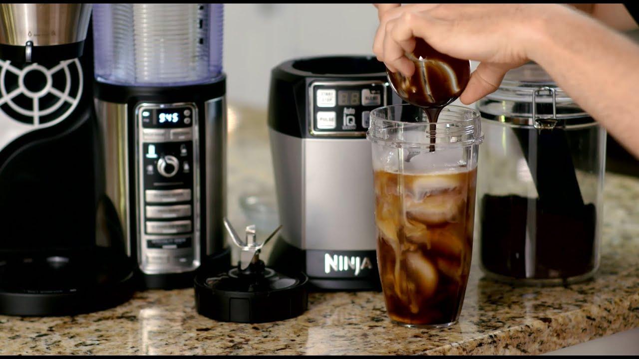 Making A Mochaccino With The Ninja Coffee Bar Youtube