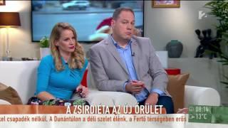 Schobert Norbi kiállt a zsírfogyasztás mellett - tv2.hu/mokka