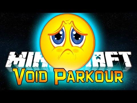 Minecraft: Void Parkour Sad Face Speed Run Attempts