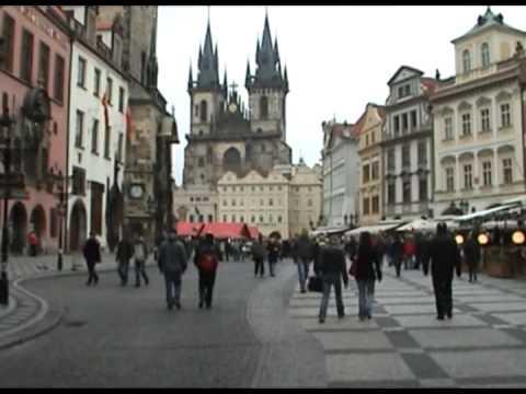 Prague 2008 december Travel Guide video