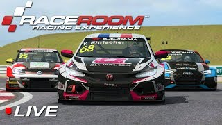 RaceRoom WTCR esports Div 1 Round 4 - Slovakiaring | Live