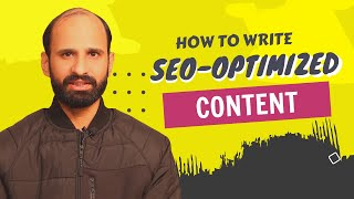 How to write SEO Optimized Articles with Minimal Efforts