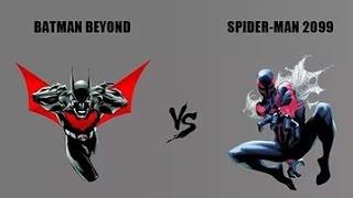 Человек паук 2099 VS Бэтмен Будущего