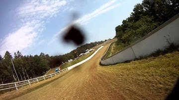 Bergring Teterow 2011 - part 5/6 -- GoPro onBoard training Live