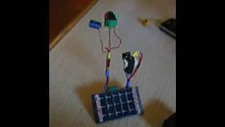 Pummer Beam Solar Robot (suspended bicore)