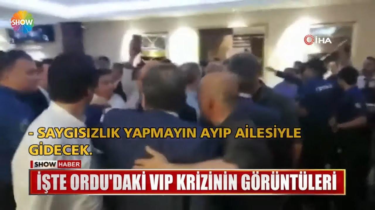 Fatih Portakal, İmamoğlu ve Ordu Valisi Görüntüleri: İşte Ordu'daki VİP krizinin görüntüleri