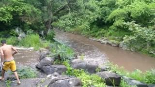 Y que nos agarra la lluvia en las tinajas, Santa Isabel, Nayarit