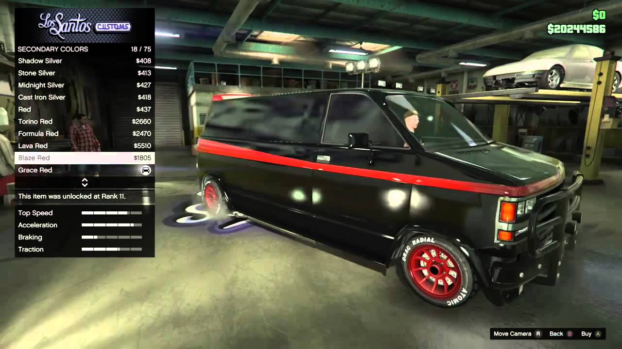 Make A Team Van In GTA Online
