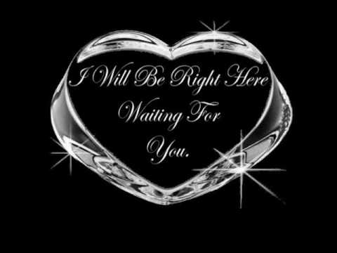 i will be right here waiting for you.. remix..!!