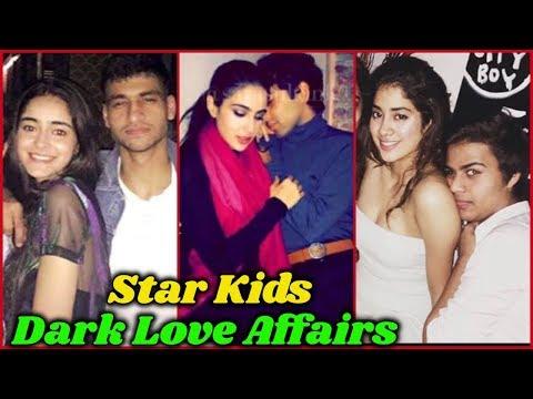 Secret Love Affair Of Bollywood Star Kids | Sara Ali Khan, Ananya Panday, Janhvi Kapoor