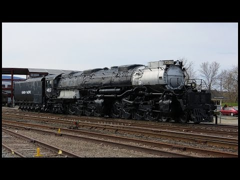Union Pacific Big Boy Steam Locomotive 4012