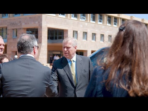 Pitch@Palace: Bond welcomes Duke of York to campus