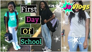 FIRST DAY OF SCHOOL | JaVlogs