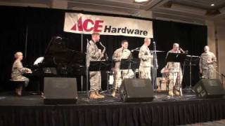 "101st Army Dixieland Band  ""Dogface Soldier"""