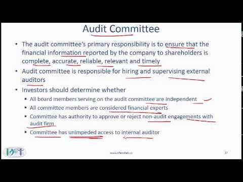 Level I CFA Corporate Finance Reading Summary: Corporate Governance