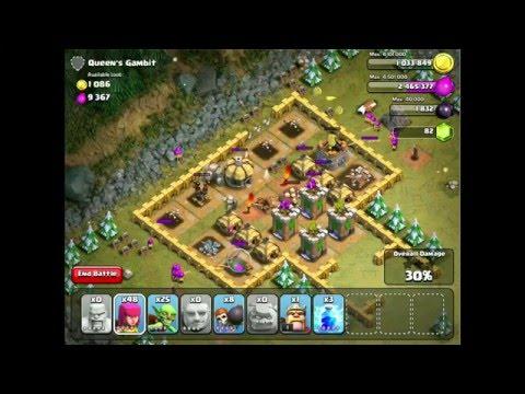 Clash Of Clans Walkthrough- Queens Gambit