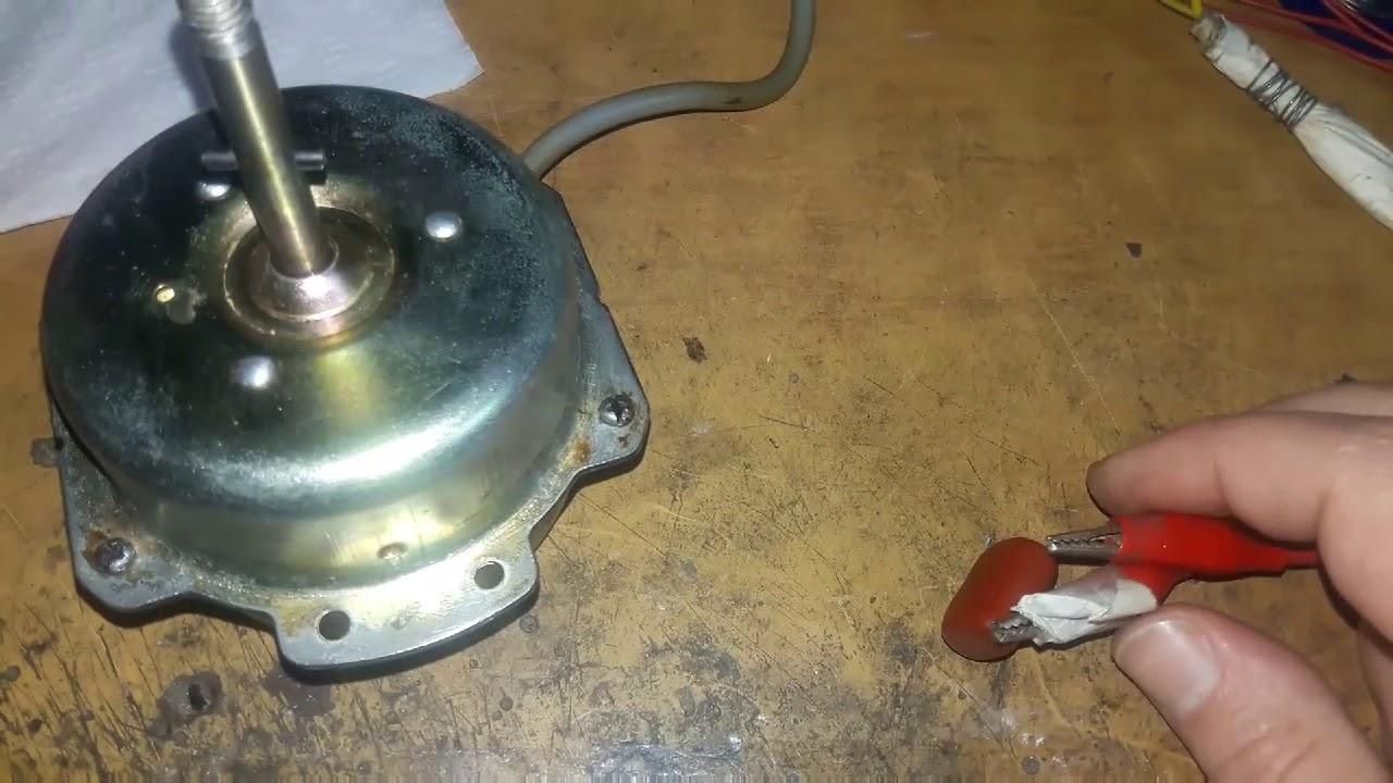 ventilation fan motor repair