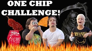 PAQUI #ONECHIPCHALLENGE FAMILY STYLE WITH MINI MAMA!