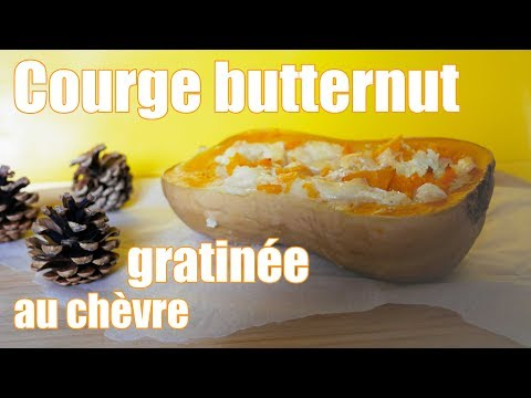 courge-butternut-gratinée-au-chèvre