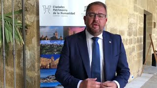 Mérida presidirá el Grupo de Ciudades Patrimonio de la Humanidad desde enero de 2021