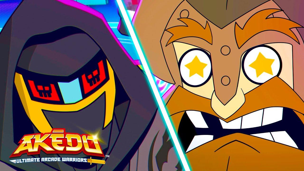 Nightblades VS Axel   Akedo: Ultimate Arcade Warriors