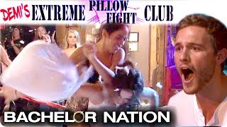 Demi's EXTREME Pillow Fight Club! | The Bachelor