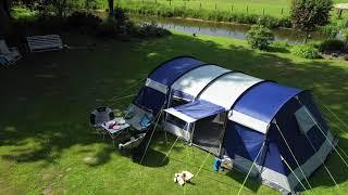 Skandika Montana Campingzelt mİt Sleeper Technologie   Campingurlaub mit der ganzen Familie