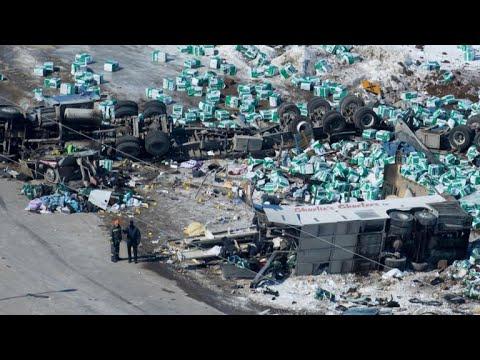 Canada mourns tragic bus crash that left 14 dead