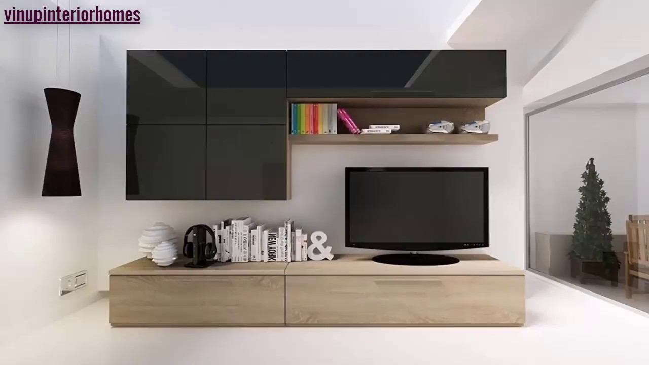 Stylish Modern Tv Cabinet Wall Units Furniture Designs Ideas For Living Room