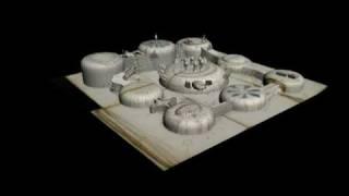 Voynich Manuscript Rosettes in 3D