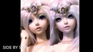 Welcome back, Gwendolyn! And musings on how the eyes alone can totally change the look of your bjd!