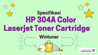 Harga Cartridge HP 304A Terbaik & Terpercaya | WA. 085266508020