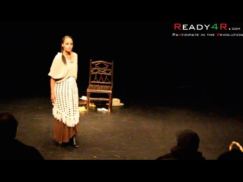 "One Woman Show, ""TITUBA"". Falsely Accused of Witch Craft, Igniting The Salem Witch Hunt"