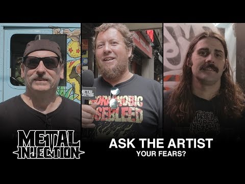 ASK THE ARTIST: What Are You Afraid Of? | Metal Injection
