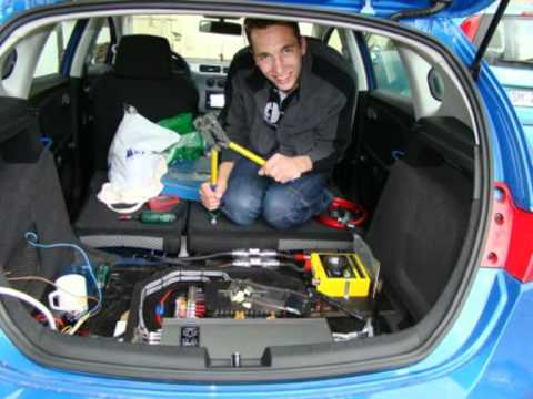car hifi einbau im seat leon 1p teil 2 youtube. Black Bedroom Furniture Sets. Home Design Ideas