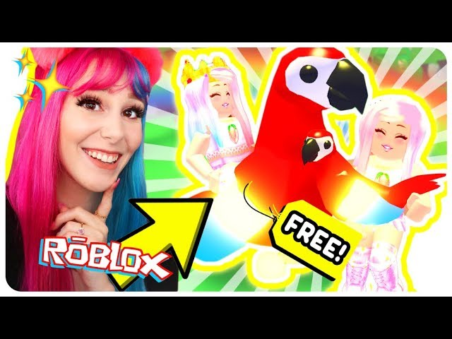 How To Get A Free Neon Legendary Parrot Pet In Adopt Me Roblox Adopt Me New Jungle Pets Update Youtube