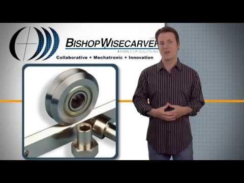 DualVee Linear Guide Wheels - Designed for Harsh Debris-Laden Environments