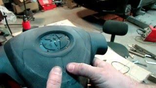 Смотреть видео ремонт подушек безопасности